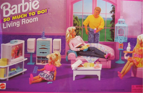 Barbie Bedroom In A Box: Barbie Barbie So Much To Do Living Room Playset Box