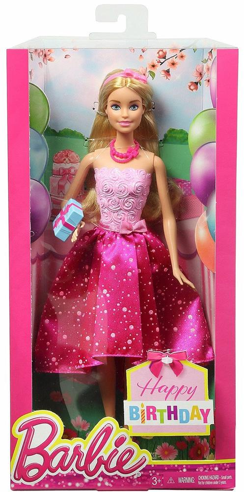 Barbie Barbie Happy Birthday Doll Box Dhc37 Value And
